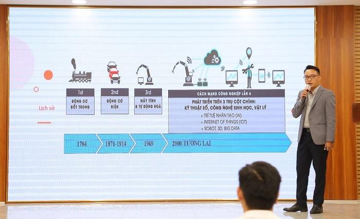Ông Chu Tiến Long – Co-Founder và Giám đốc kinh doanh 1Office chia sẻ những kiến thức cơ bản về chuyển đổi số
