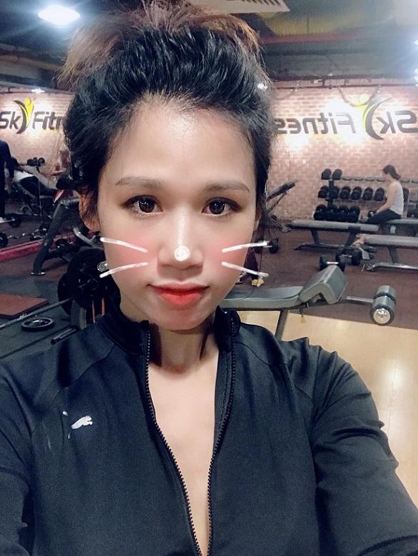 Sức khỏe là quan trọng nhất nên Thu Hà không bao giờ bỏ bê tập luyện