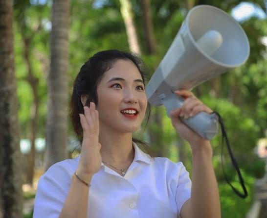 Phạm Kiều Tiên – Hotgirl gốc Trà Vinh mang vẻ đẹp thanh tú