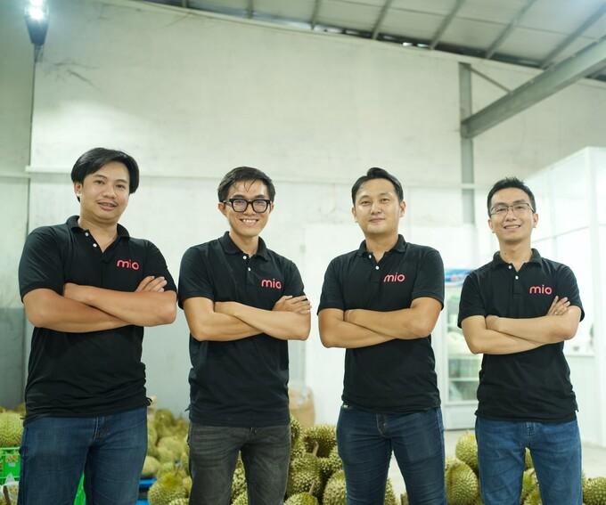 Đội ngũ sáng lập của Mio. Ảnh: Venturra Discovery.