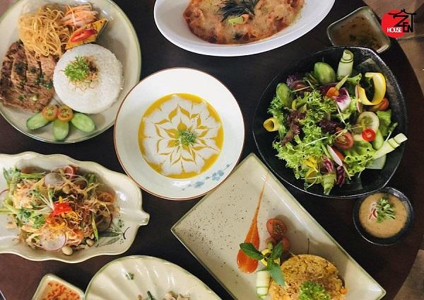 Bếp chay nhà Zen - Địa chỉ cho những tín đồ ăn chay lành mạnh