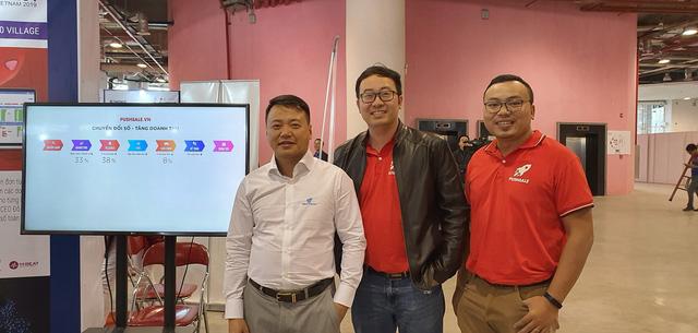 Shark Bình và CEO Cuccu.vn